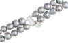 "18"" Double Strand Baroque Grey Pearl Necklace Double Strand"