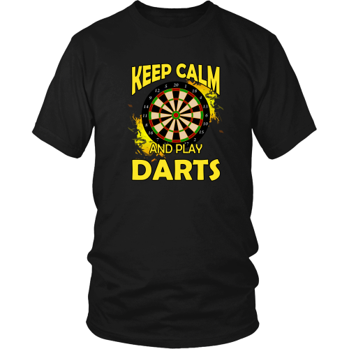 Darts T-shirt - Keep calm and play darts