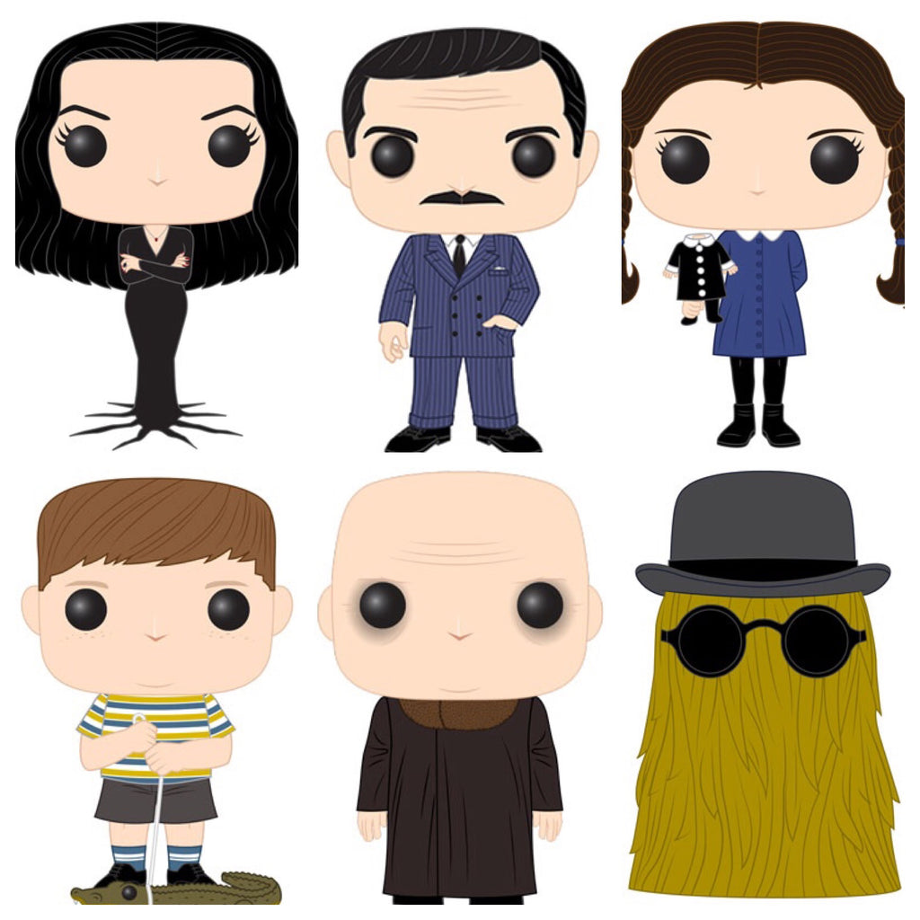 Funko Pop! Tv Adams Family Set of 6