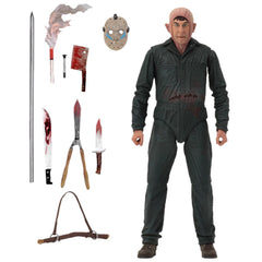 "Friday The 13th 7"" Scale Figures - Ultimate Part V Roy Burns"