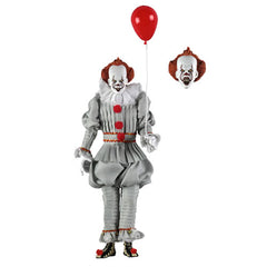 "Retro Clothed Action Figures - IT (2017) - 8"" Pennywise"