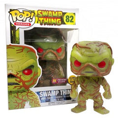 Pop! Exclusive Glow in the dark Swamp Thing