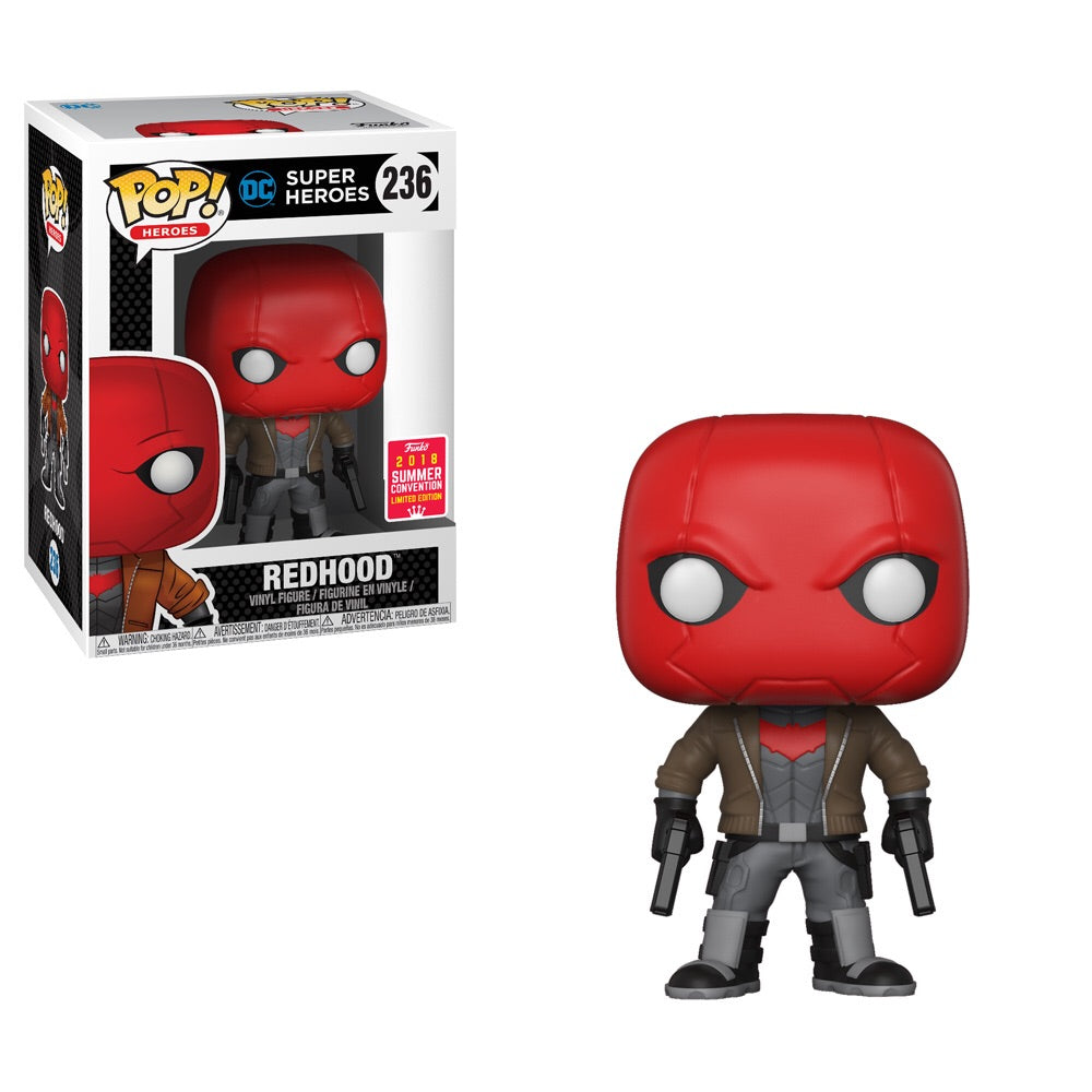POP! Heroes: DC Super Heroes - Red Hood - Summer Convention 2018 Exclusive