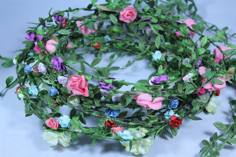 Assorted Pack of 20 Rose Headbands