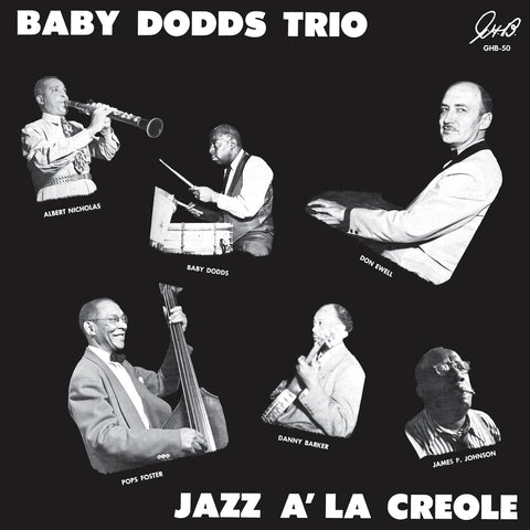 Baby Dodds - Jazz a'la Creole w/ Albert Nicholas, James P Johnson,
