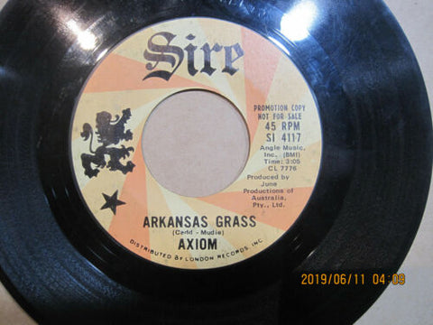 AXIOM - Arkansas Grass b/w Samantha