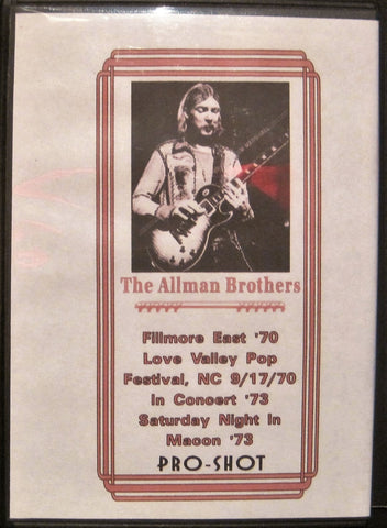 Allman Brothers Band - The Duane Allman Years 1970-73