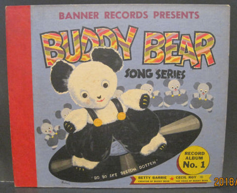 Banner Records Presents Buddy Bear As Told by Cecil Roy