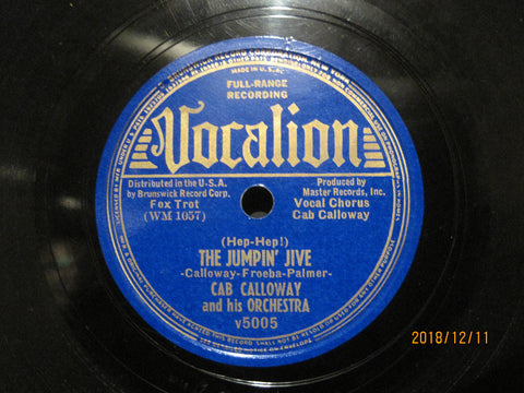 Cab Calloway - The Jumpin' Jive b/w Trylon Swing