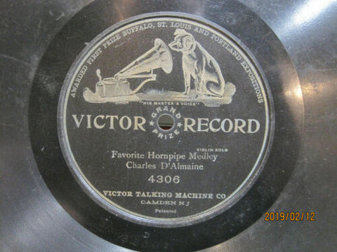 Charles D'Almaine - Favorite Hornpipe Medley One-Sided Victor