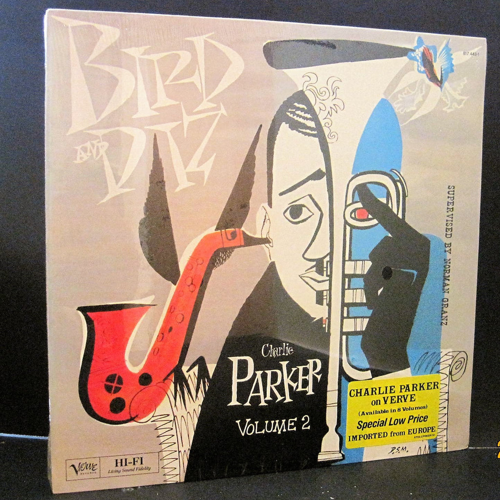Charlie Parker & Dizzy Gillespie - BIRD and DIZ Volume 2 SEALED French Polydor Lp