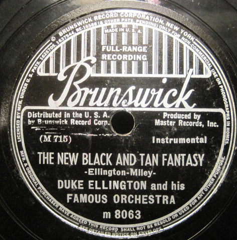 Duke Ellington - The New Black and Tan Fantasy b/w Stepping into Swing Society