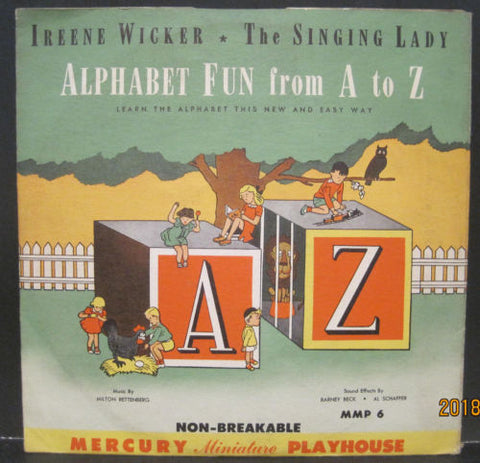 Alphabet Fun from A to Z with Ireene Wicker The Singing Lady