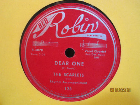 The Scarlets - Dear One b/w I've Lost