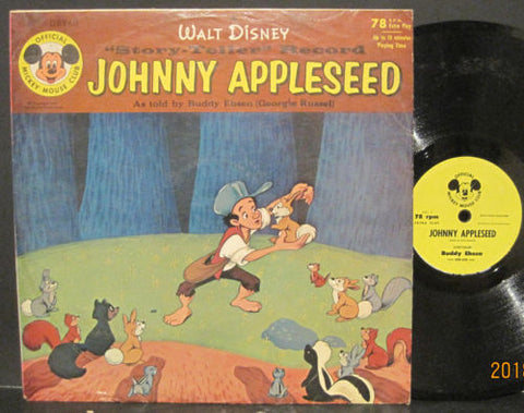 Walt Disney Johnny Appleseed as Told by Buddy Ebsen