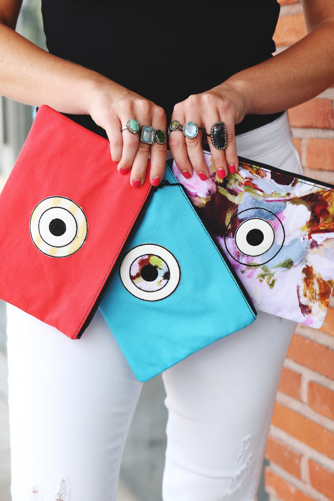 evil eye clutches