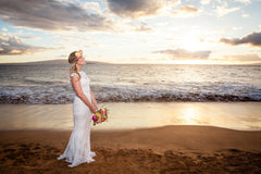 Lynette & Nathaniel Exchange Vows Among Family & Friends In Maui!