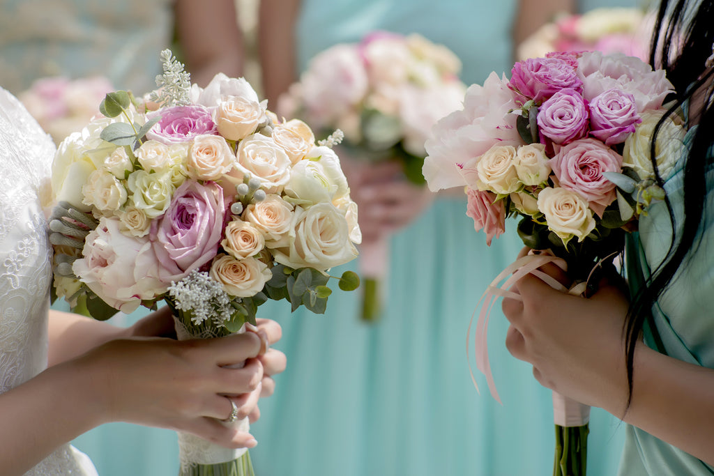 Bridesmaids Matching Wedding Bouquet