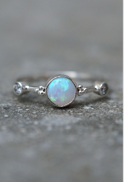 Aurora Lights Ring Silver