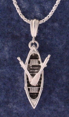 Adirondack Guide boat Necklace