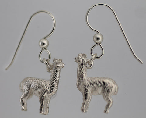 Alpaca Earrings - Sterling Silver