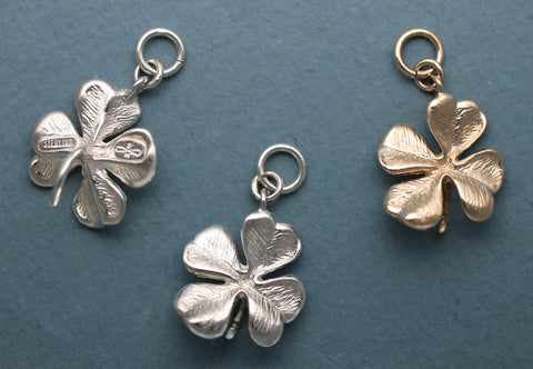 Sterling Silver Four Leaf Clover Jewelry