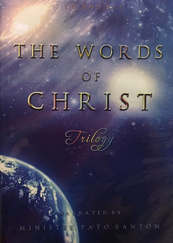 "CD Boxed Set - ""Words of Christ"" Trilogy - narrated by Pato Banton"