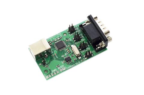 CANtact v1.0 Open Source Controller Area Network (CAN) to USB Converter