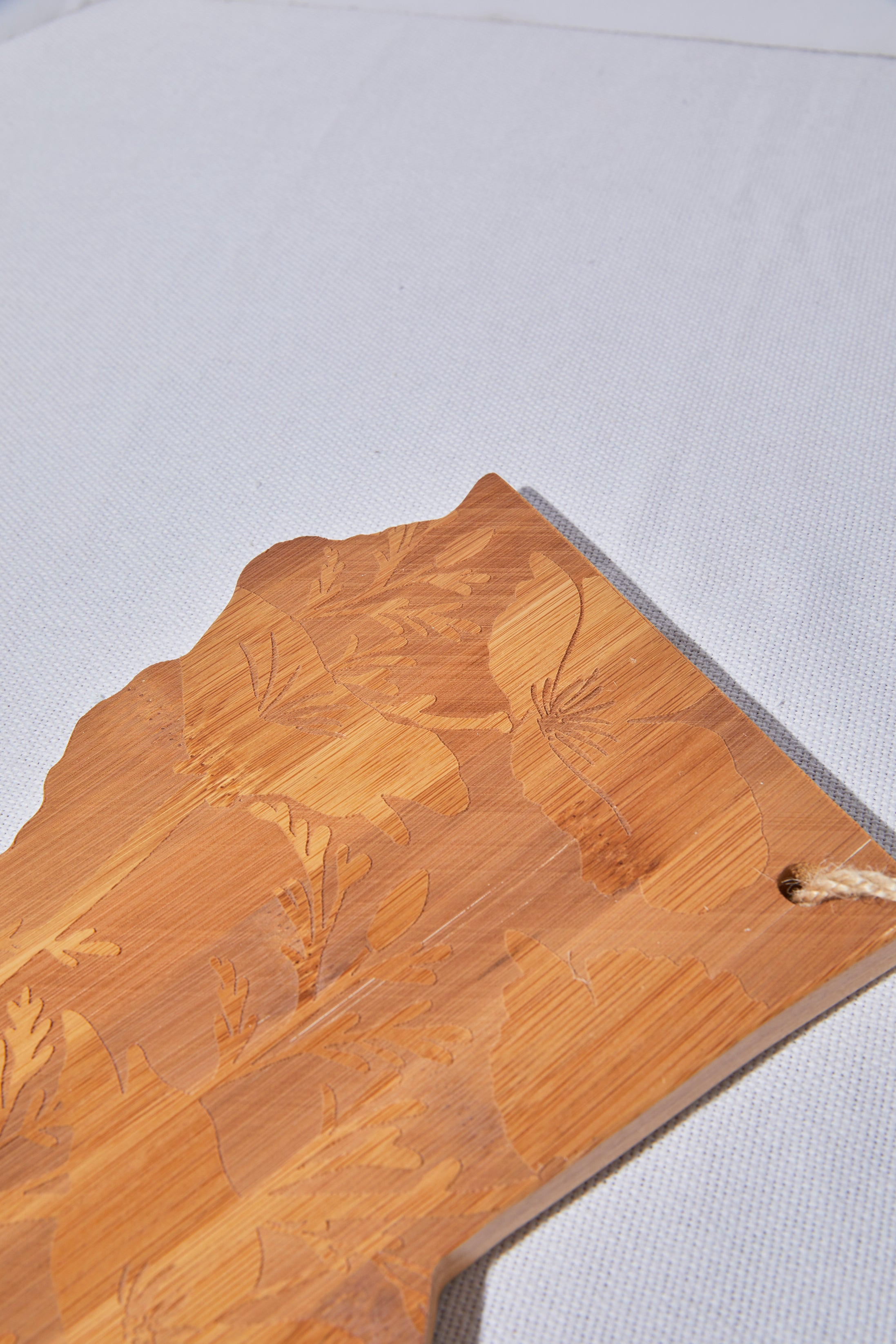 California Poppy Etched Cutting Board - picnic-sf