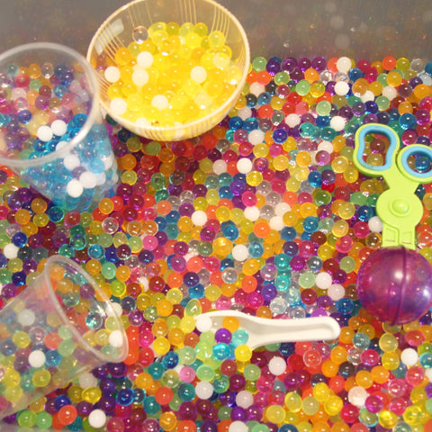 Jelly Beadz rainbow mix