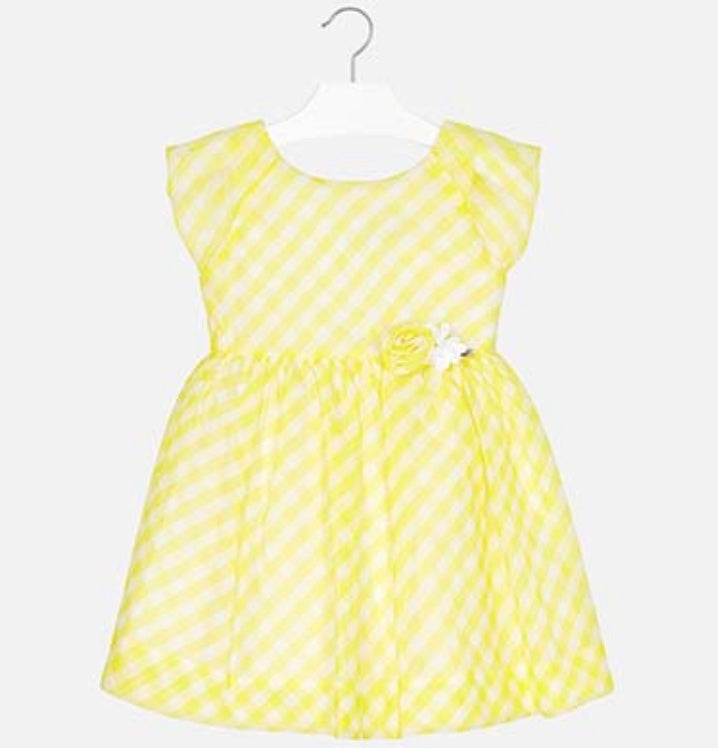 Girl gingham summer dress