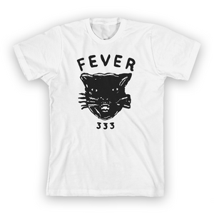Cat Sketch T-Shirt (White)