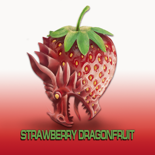 Strawberry Dragonfruit