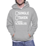 Single Taken Busy Saving Lives Hoodie