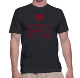 Tattoos Camera & Shoes T-Shirt