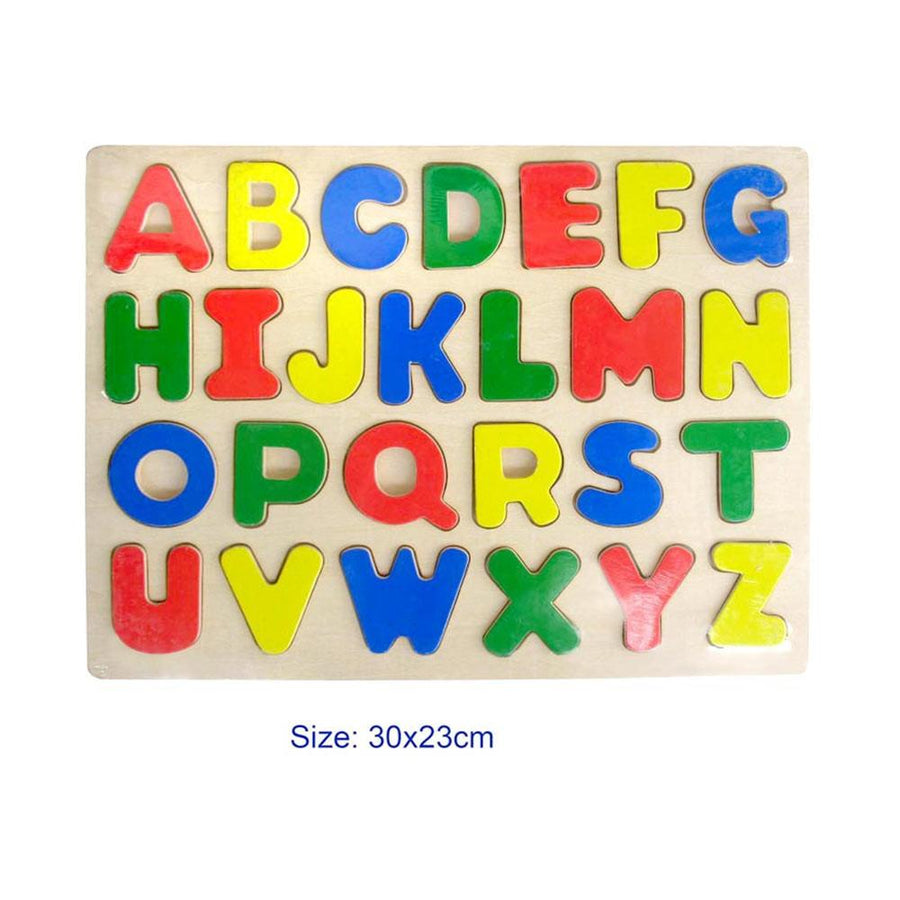 Fun Factory - Uppercase Wooden Puzzle - CleverStuff