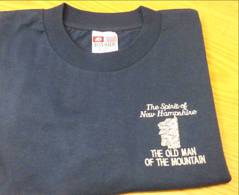 The Old Man of the Mountain long sleeve T-Shirts