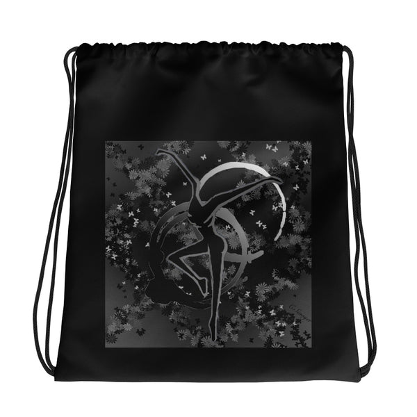 DMB Butterfly Drawstring bag