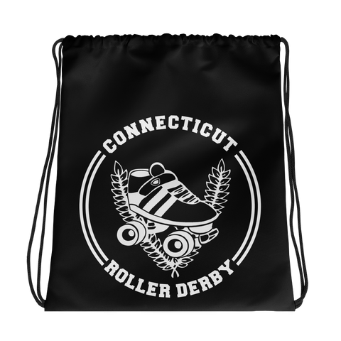 Connecticut Roller Derby Drawstring bag