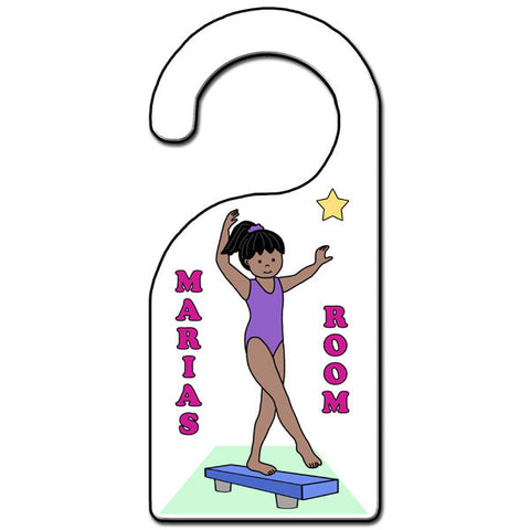 Gymnastics Door Hanger - Beam
