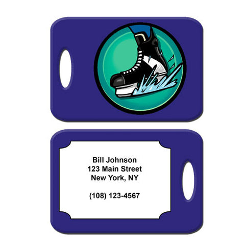 Hockey Skate Bag Tag