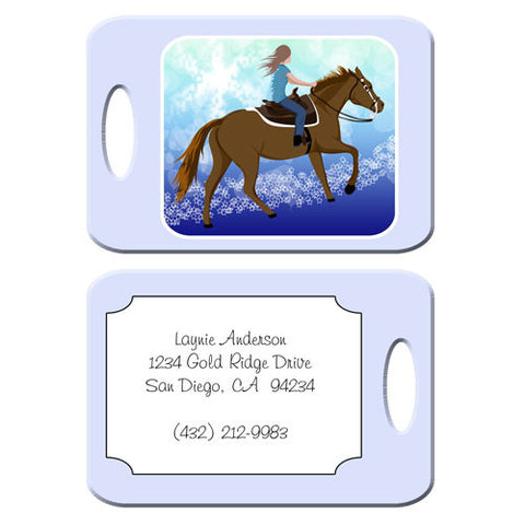 Horse Dreams Bag Tag