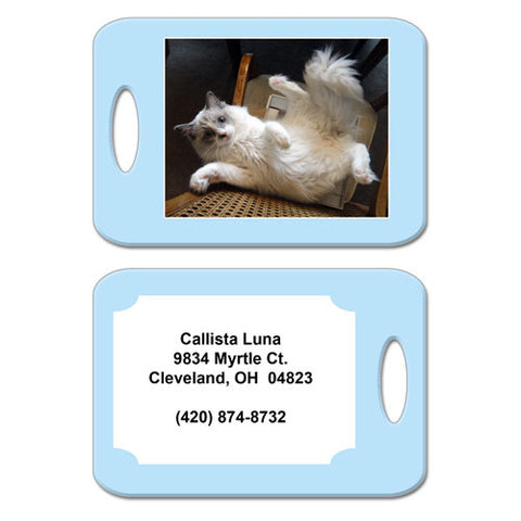 Pet Photo Bag Tag