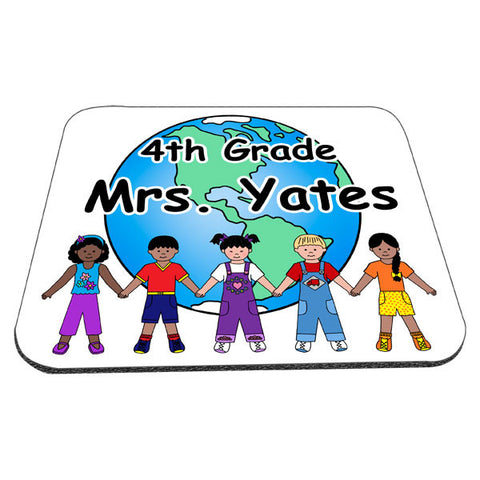 Multicultural Kids Mousepad