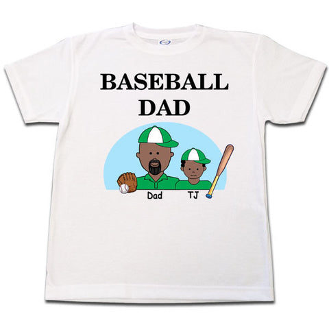 Baseball Dad T Shirt