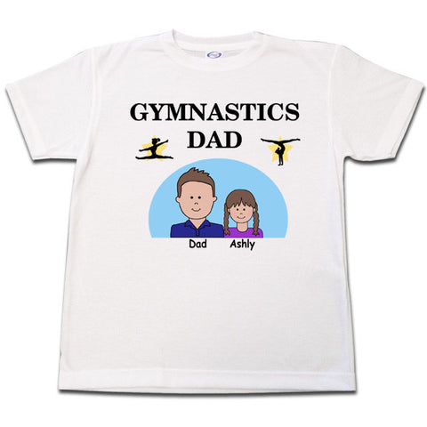 Gymnastics Dad T Shirt