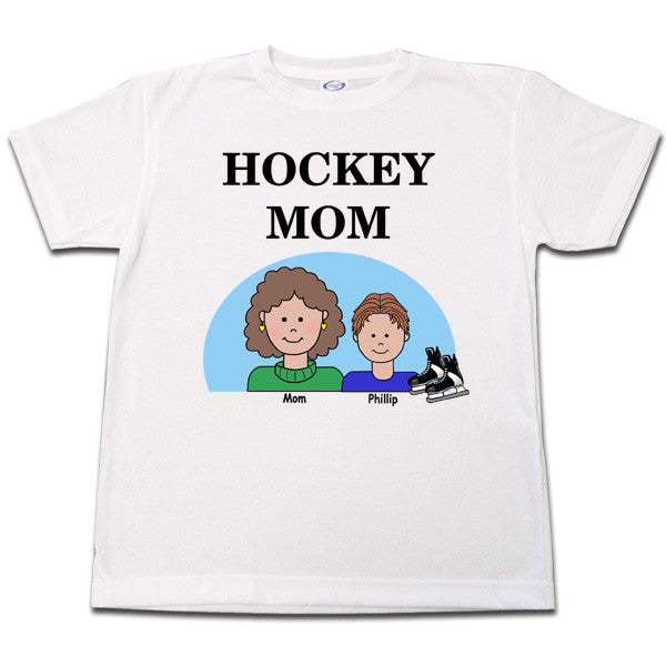 Hockey Mom T Shirt