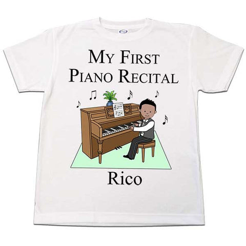 Piano Recital Boy T Shirt