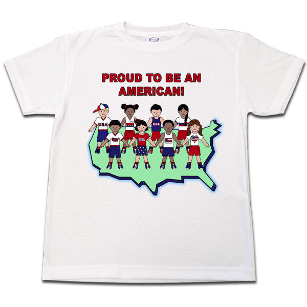 Proud to be an American T shirt