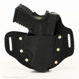 Outside the Waistband Hybrid Holster shown with Firearm